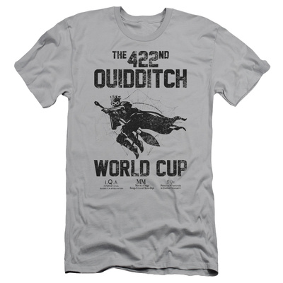 Harry Potter- 422nd Quidditch World Cup Slim Fit T-Shirt