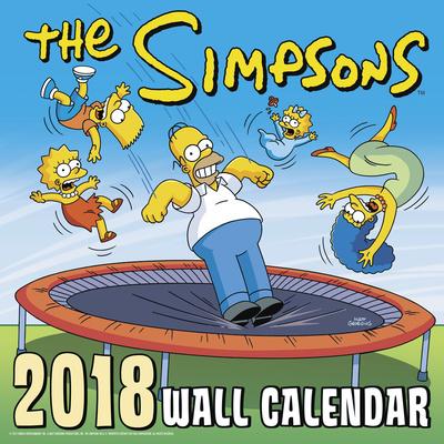 The Simpsons - 2018 Calendar Calendars