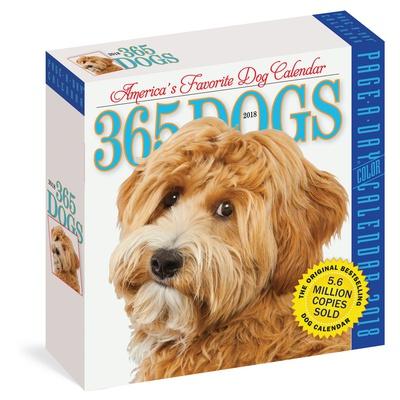 365 Dogs Color Page-A-Day - 2018 Boxed Calendar Calendari