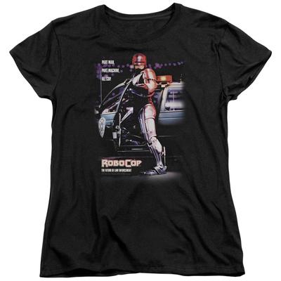 Womens: Robocop- Poster T-Shirt