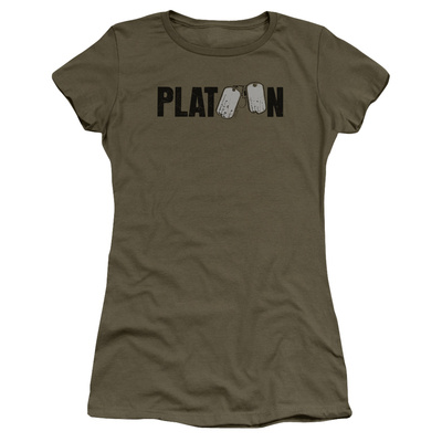 Juniors: Platoon- Tag Logo T-Shirt