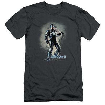 Robocop- Break On Through Slim Fit T-shirts