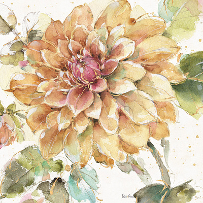 Country Bloom V Prints by Lisa Audit