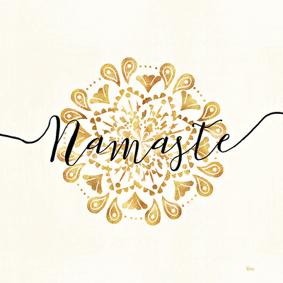 Namaste I Poster by Veronique Charron