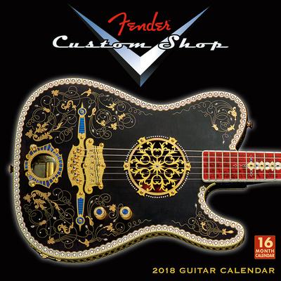 Fender Custom Shop  - 2018 Calendar Kalenders