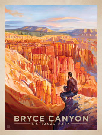 Bryce Canyon Print by  Anderson Design Group