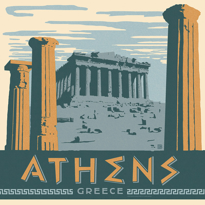 Athens Posters by  Anderson Design Group