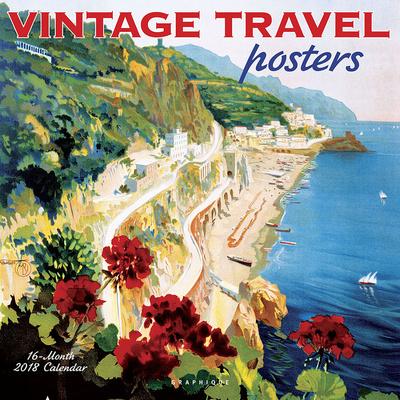 Vintage Travel Posters - 2018 Calendar Calendari