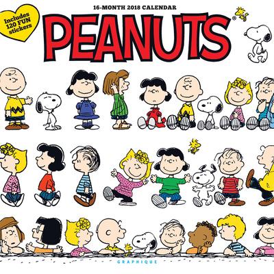 Peanuts Happiness Is - 2018 Calendar Calendarios