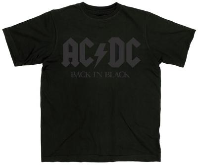 AC/DC - Back in Black 2016 Tour T-Shirt