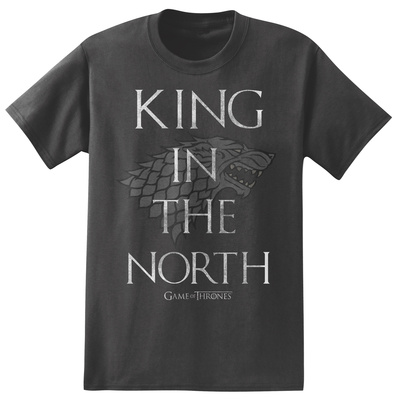 Game of Thrones - King in the North T-Shirt