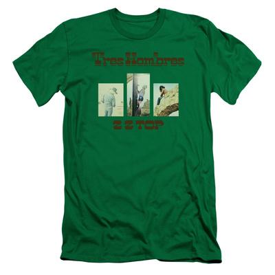 ZZ Top- Tres Hombres Album Art Slim Fit T-Shirt