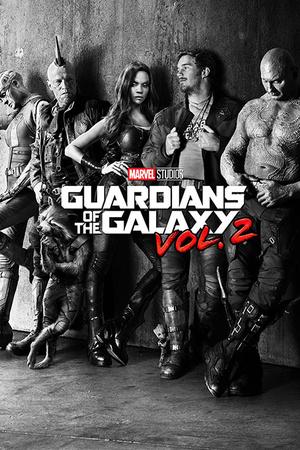Guardians Of The Galaxy Vol. 2 - Black & White Teaser Planscher