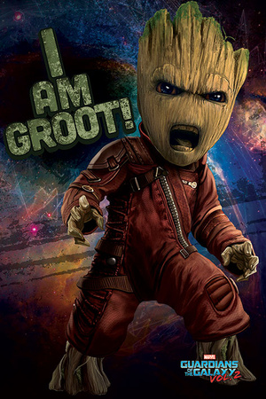 Guardians Of The Galaxy Vol.2 - Angry Groot Billeder
