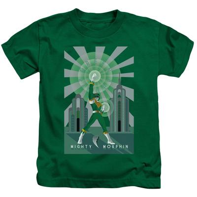 Juvenile: Power Rangers- Green Ranger Deco T-Shirt