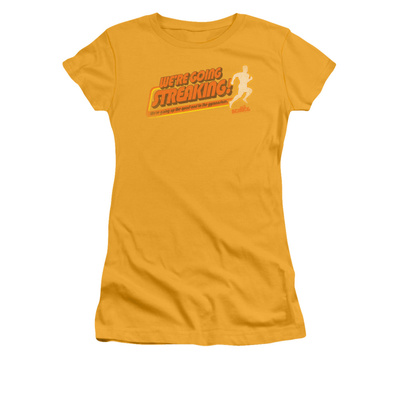 Juniors: Old School- Streaking Shirts