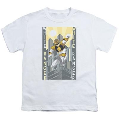Youth: Power Rangers- White Ranger Deco T-Shirt