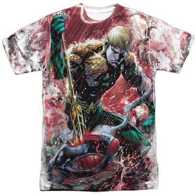 JLA- Aquaman Vs Manta T-shirts