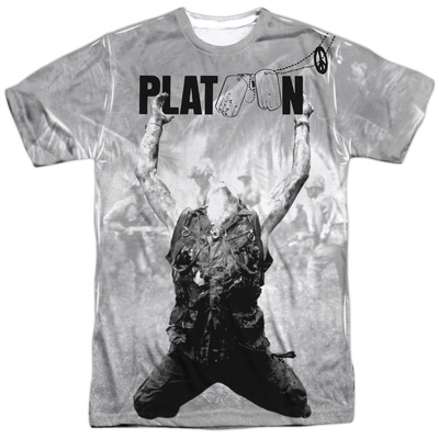 Platoon- Grayscale Poster T-shirts