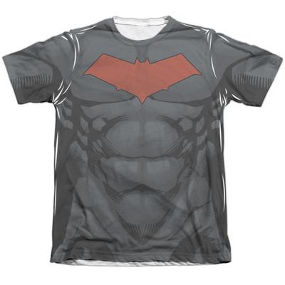 Batman- Red Hood Logo Costume Tee T-shirts