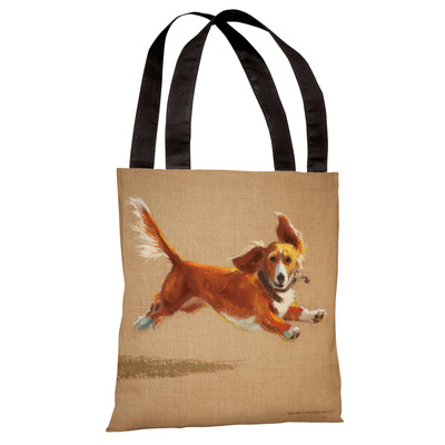 Mighty Mutt Tote Bag by Graviss Studios Tote Bag