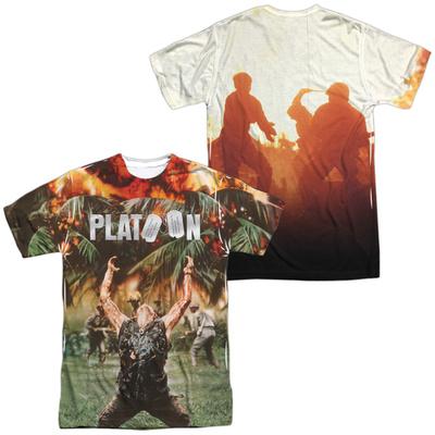 Platoon- Key Art (Front/Back) Shirt