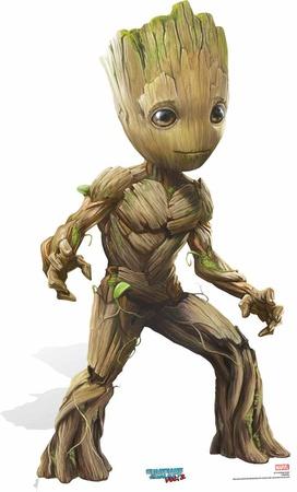 Baby Groot - Guardians of the Galaxy Vol. 2 - Mini Cutout Included Figura de cartón
