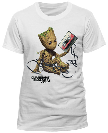 Guardians of the Galaxy Vol. 2 - Groot & Tape Tshirt