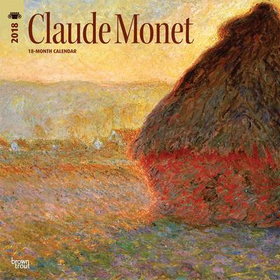 Monet, Claude - 2018 Calendar Calendari