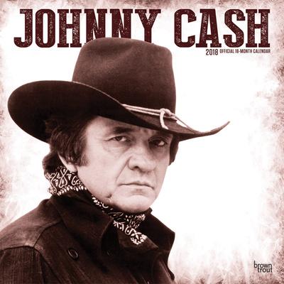 Johnny Cash - 2018 Calendar Calendari