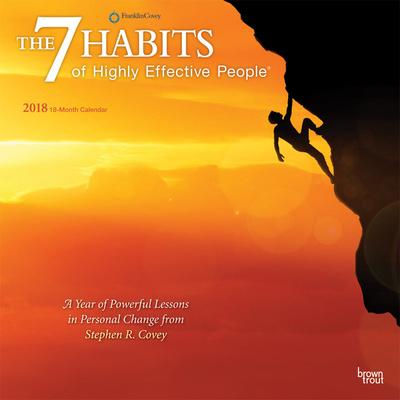 The 7 Habits of Highly Effective People - 2018 Calendar Calendari