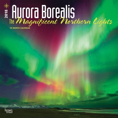 Aurora Borealis: The Magnificent Northern Lights - 2018 Calendar Calendari