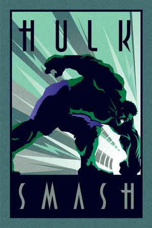 Marvel Deco - Hulk Affischer