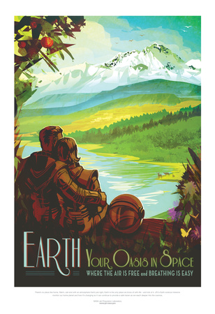 NASA/JPL: Visions Of The Future - Earth Posters