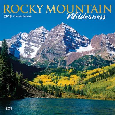Rocky Mountain Wilderness - 2018 Calendar Calendari