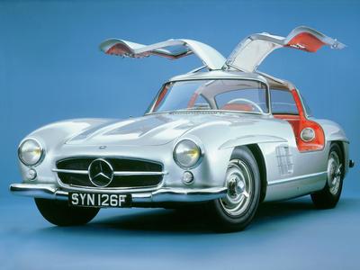 1957 Mercedes Benz 300 SL Gullwing Photographic Print