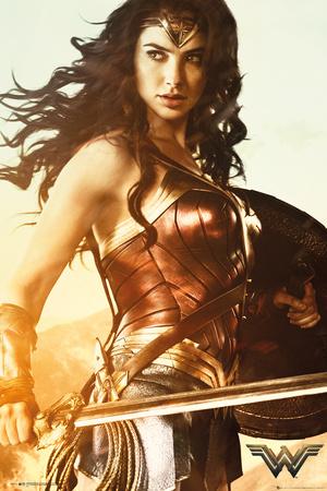 Wonder Woman - Sword Posters