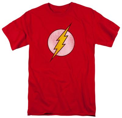 The Flash - Distressed Logo T-shirts