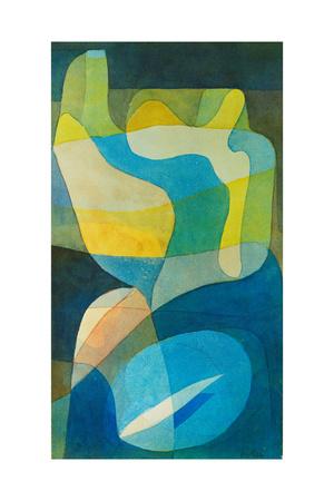 Lichtbreitung. 1929, 242 Giclee Print by Paul Klee