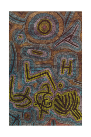 Catharsis (Katharsis). 1937, 40 Giclee Print by Paul Klee