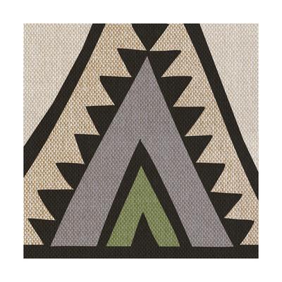 Global Geometric Print 3 Art by Evangeline Taylor