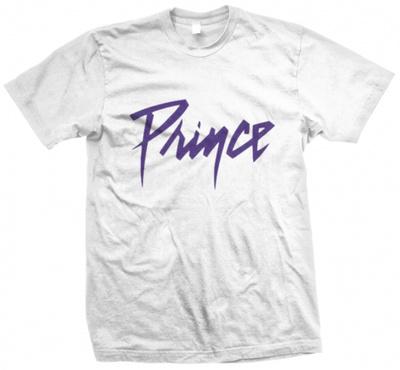 Prince - Purple on White T-shirts