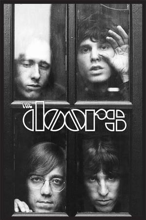 The Doors - Faces In Window Print
