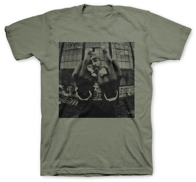 Tupac - Bold Army T-Shirt
