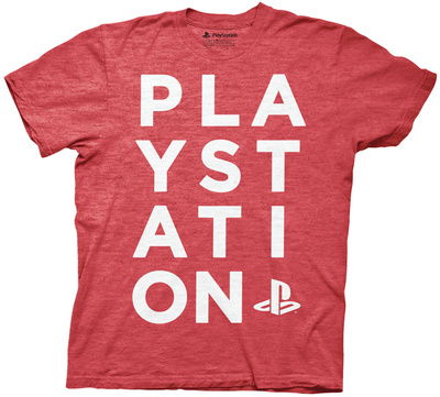 Playstation - Playstation Run On Type Shirts