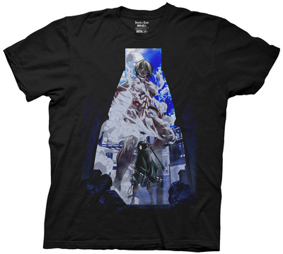 Attack on Titan - Cover Image T-shirts