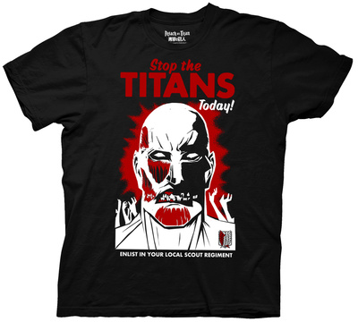 Attack on Titan - Colossal Titan Poster Shirt