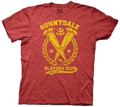 Buffy The Vampire Slayer - Sunnydale Slayers Club Shirts