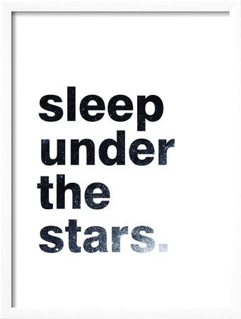 Sleep Under The Stars Posters van Pop Monica