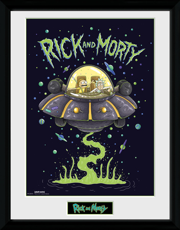 Rick & Morty - Ship Collector-tryk